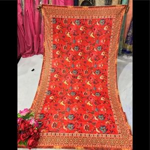 Indian Pakistani punjabi velvet dupatta/stole